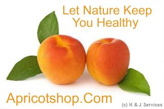 Apricotshop Let Nature Keep You Healthy Logo